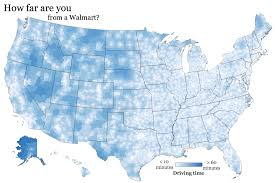 Walmart Map How Far Are You From A Walmart