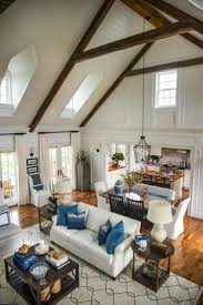 open concept farmhouse cabin plans with loft and porch architecture how to build wrap