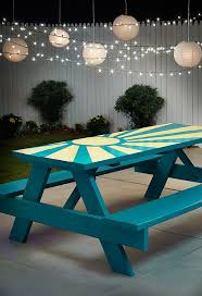 Design For Wooden Picnic Table by Best 25 Picnic Tables Ideas On Pinterest Diy Picnic Table