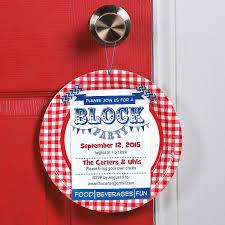 neighborhood block party invitation idea this diy invitation is