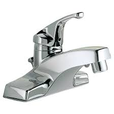 colony single handle 4 inch centerset bathroom faucet american