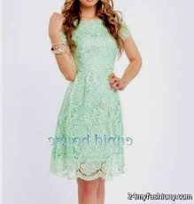 mint lace bridesmaid dresses 2016 2017 b2b fashion