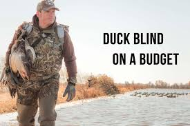 How To Make A Duck Blind How To Build A Duck Blind Fast Cheap And Effective Youtube