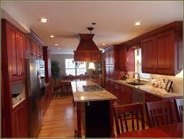 kitchen red cherry wood kitchen cabinets wonderful decoration