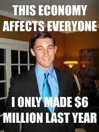 Rich Meme - rich douchebag andrew