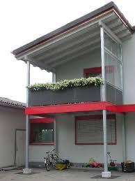 balkon wetterschutz schlosserei metallbau nef könig