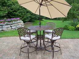 patio furniture sets with umbrella home outdoor