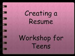 Sample Of Objectives In A Resume by Resume Writing For Teens