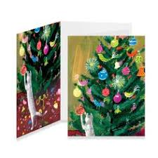 kitty christmas holiday cards novelty holiday cards stationery