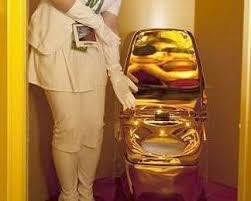 midas touch toilets regio gold toilet