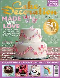 Cake Decorating Heaven Magazine Cake Decoration Heaven Spring