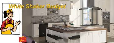 how to buy kitchen cabinets on a budget budget white shaker kitchen cabinets kitchen cabinet depot