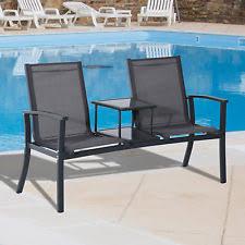 Porch Chair Aluminum Patio U0026 Garden Benches Ebay