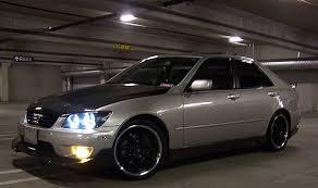 lexus i300 lexus is300 aftermarket jdm fog lights dash z racing