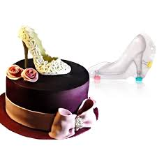 high heel 3d polycarbonate chocolate mold shoes cake decorating