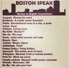 Boston Accent Memes - assistance of pronunciation with boston accent of r h m to reflect