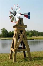 8 lonestar decorative windmill with flag rudder davids e