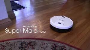 Laminate Floor Cleaning Machine Techko Maid Super Maid Rv212 Robotic Floor Cleaning Machine