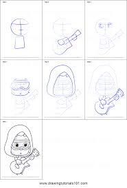how to draw under guppy from bubble guppies printable step by step
