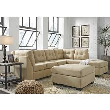 Ashley Furniture Tufted Sofa by Maier Cocoa 2 Piece Sectional Bernie U0026 Phyl U0027s Furniture By