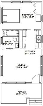 house plans and more 16x30 tiny house 16x30h13 480 sq ft excellent floor plans