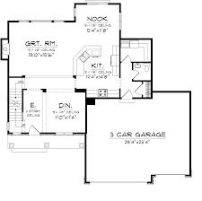 Coolhouseplans Com Reverse 1 2 Story Home Plans