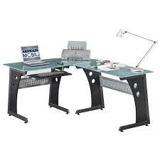 Omnirax Presto 4 Studio Desk Black by Studio Rta Desk Glass Decorative Desk Decoration
