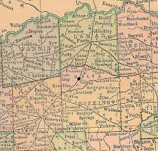 durant wyoming map county map