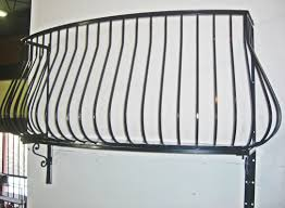Wrought Iron Balconies Pot Belly Wrought Iron Balcony From Www