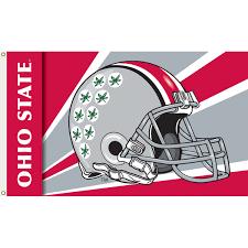 Ohios State Flag Ohio State Buckeyes 3ft X 5ft Team Flag Helmet Design
