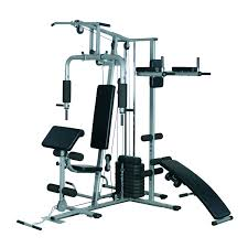 soozier deluxe home gym fitness exercise machine weight stack