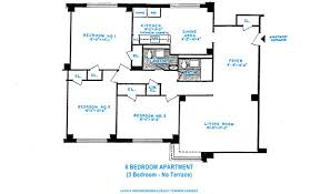 three bedroom flat floor plan three bedrooms rochdale village