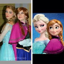 12 photos queen elsa stunned u0027frozen u0027 fans