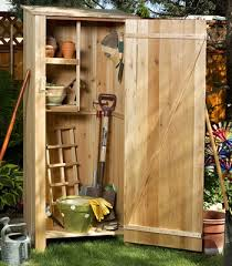 teak outdoor storage cabinet cedar garden sheds and storage hutches by all things cedar outdoor