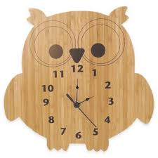themed clock buy owl themed clock from bed bath beyond