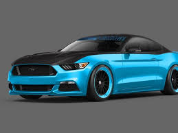 Mustang Black Roof Turquoise Blue Newer Ford Mustang Black Hood And Roof Classic