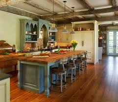fabulous kitchen island rustic for warm color appearance