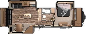 northwood nash inspirations including 2 bedroom 5th wheel floor