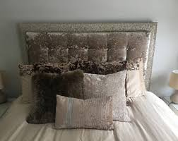 Velvet King Headboard Tufted Headboard Etsy
