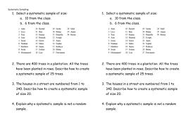 sampling techniques gcse statistics by elfinhan1 teaching