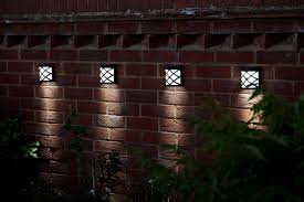 Outdoor Fence Lighting Ideas by Wall Outdoor Solar Lights All About Outdoor Solar Lights
