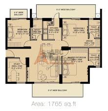 2 bhk ild arete floor plan archives floorplan in