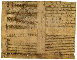 parchment paper to write on making books for profit in medieval times medievalfragments advertisement sheet from herman strepel professional scribe in munster c 1447 the