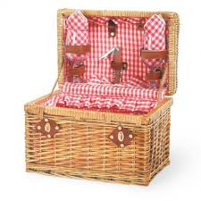 decorating ideas cute pink ruffle picnic basket as home