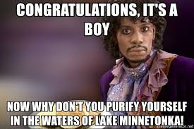 Dave Chappelle Prince Meme - congratulations it s a boy now why don t you purify yourself in