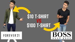 cheap clothing vs expensive clothing youtube