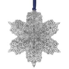 intricate snowflake ornament wendell august