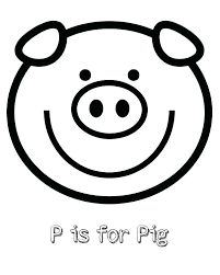 coloring pages minecraft pig pig coloring pages free printable p is for pig coloring page
