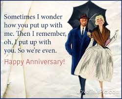 Happy Anniversary Meme - sometimes i wonder how you put up with me happy anniversary pictures