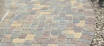 Lowes Pavers For Patio Lowes Landscape Pavers Concrete Patio Concrete Stepping